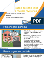 Apresentação da Série Miss Fisher' s Murder Mysteries