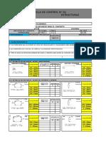 Formatos de control de acero en estructuras