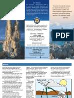 Mono Lake Tufa State Natural Reserve Park Brochure