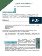 Clase 4 Instrumental en Exodoncia