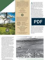 Mount Diablo State Park Brochure