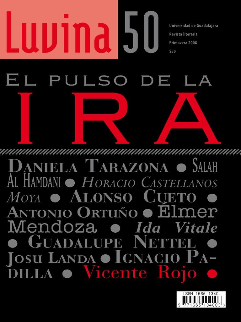 Luvina50el Pulso De La Ira Novelas Frontera Estadounidense