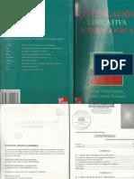 Investigacion Educativa y Pedagogia CAP  I,II,III