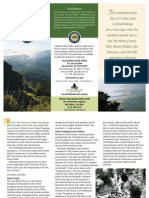 Mount Tamalpais State Park Brochure