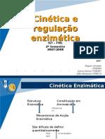 5º Tema - Cinética e Regulaço Enzimática_Cinética e Regulaço Enzimática Trabalho Final
