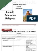 Educación Religiosa 1º Grado Rutas