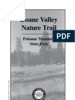 Palomar Mountain State Park Trail Guide