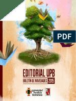 Catalogo Editorial 2015