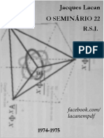 Seminário 22 RSI - Lacan