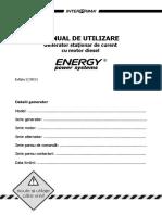 Carte Tehnica Energy Stationare 2011