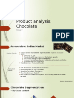 319955898 Product Analysis of Chocolate