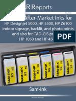705673 Sam-Ink HP Water-based 5500