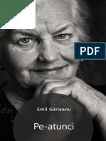 Emil Garleanu - Pe-Atunci