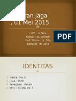 Laporan Jaga 01 Mei 2015