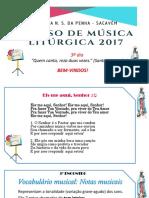 3º Dia Curso de Musica Liturgica Penha