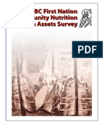 BC First Nation Community Nutrition Needs and Assets Survey