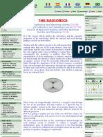 1 Radionics Dowsing