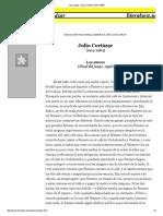 Los Amigos, Julio Cortázar (1914-1984)