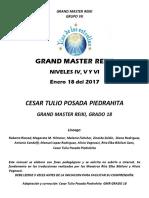 Gmr IV, V y Vi, Enero 18