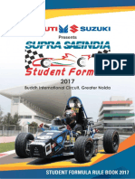 Supra Saeindia 2017 Rule Book