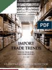 U.S. Customs Import Trends FY 2010 Mid-Year Report