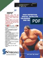 Brochure SRT 4950H - En