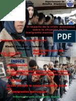 El Impacto de La Crisis Sobre Los Inmigrantes Marroquies en España (2)