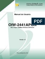 Roteador OIW 2441APGN