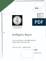 CIA - Policy and Politics in the Cpsu Politburo