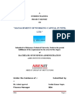 Working Capital Management New