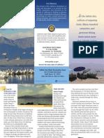 Salton Sea State Recreaion Area Park Brochure