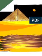 Piramide Vidrio Desert