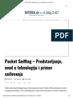 Packet Sniffing – Predstavljanje, uvod u tehnologiju i primer snifovanja.pdf