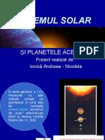 Stiinte Sistemul-solar POWERPOINT
