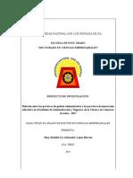 PROYECTO DE TESIS- Prácticas administrativas e innovación ( Rodolfo Lir Alexander López Barrios)