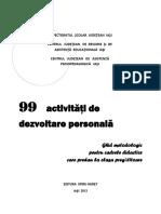 99de Activitati de Dezvoltare Personala