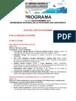 Xx Jornadas Comodoro Programa Definitivo