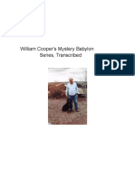 William Cooper - Mystery Babylon Series Transcriptions