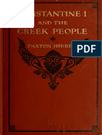 Constantine I and the greek people - Paxton Hibben (1920)