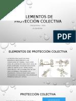 Elementos de Protección Colectiva