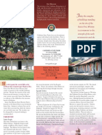 Santa Cruz Mission State Historic Park Brochure
