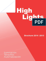 Catalogo_2014 High Lights