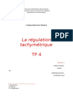 TP2 La Régulation Tachymétrique
