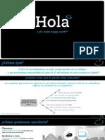 HOLA Presentación Delivering Happiness