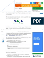 Você Precisa Saber o Que é SQL! - { Dicas de Programação }