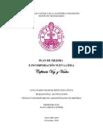 Informe Plan de Mejora I