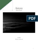 Antony - David Wessel (analisi)
