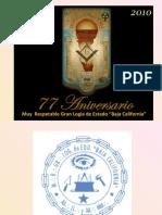Presentacion Historia de La Gran Logia de Estado Baja California