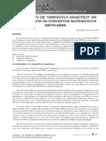 41-44 RHC 1 - El Concepto de Obstáculo Didáctico