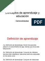 aprendizaje y educacion generalidades.ppt